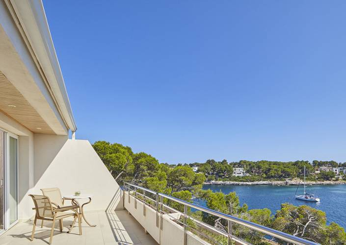 Double room sea view blau portopetro beach resort & spa majorca