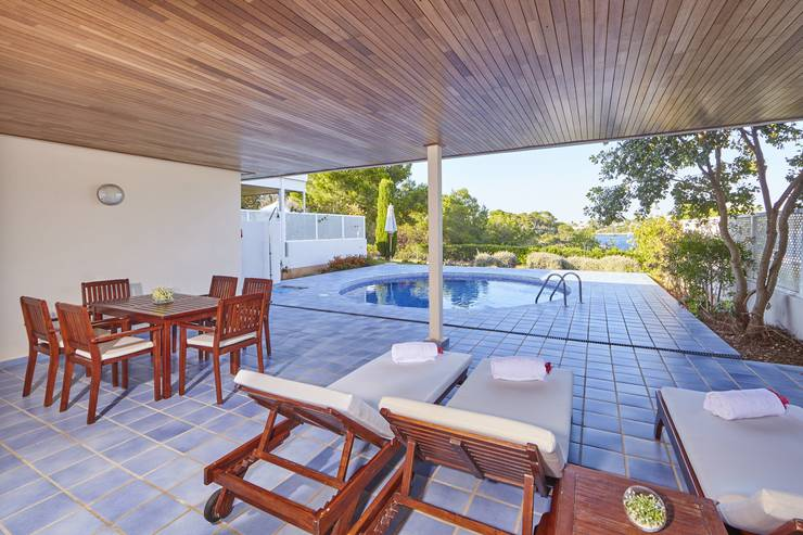 Pool-Villa Blau Privilege PortoPetro Beach Resort & Spa Mallorca